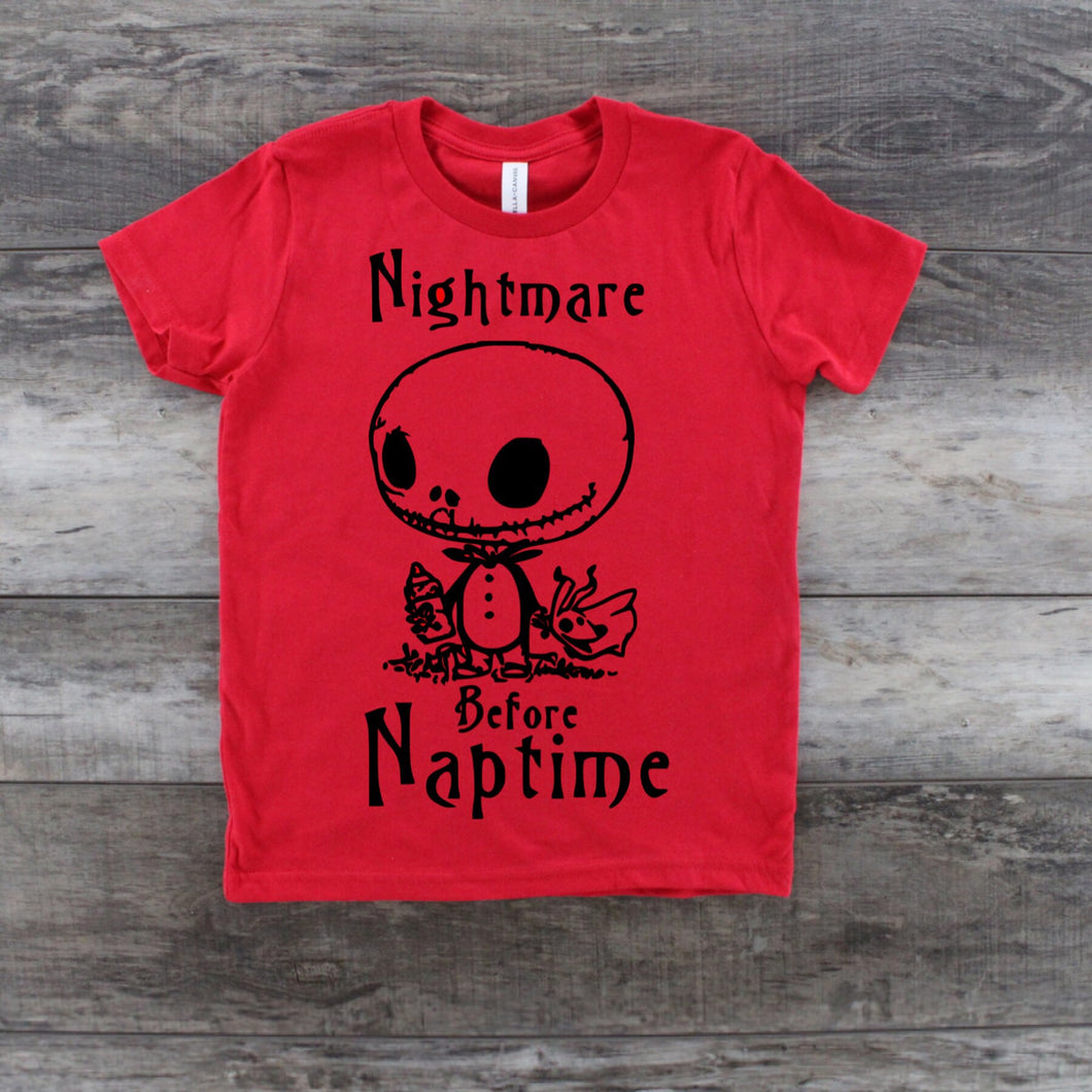 Nightmare Before Naptime Youth Shirt