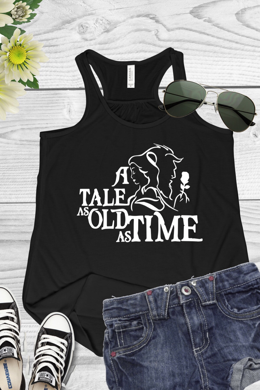 Tale As Old As Time Tank Top