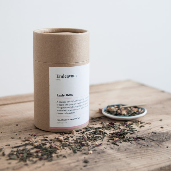 Endeavour Lady Rose tea loose leaf