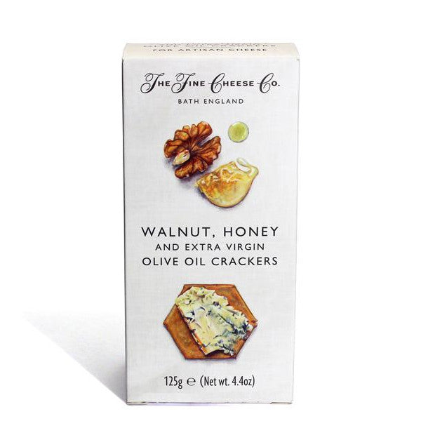 The Fine Cheese Co Walnut & Honey Crackers - 125gm