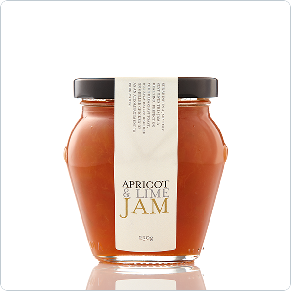 Yarra Valley Gourmet Foods Apricot & Lime Jam - 230gm