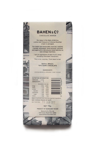 Bahen & Co 70% Cacao Brazil
