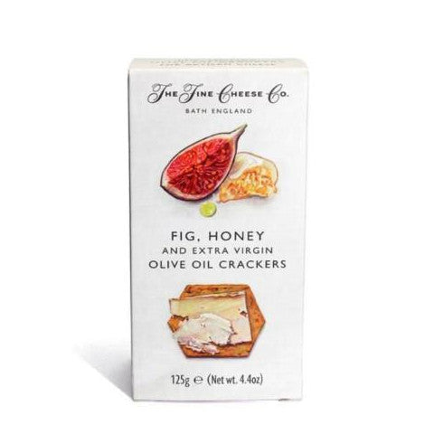 The Fine Cheese Co Fig & Honey Crackers - 125gm