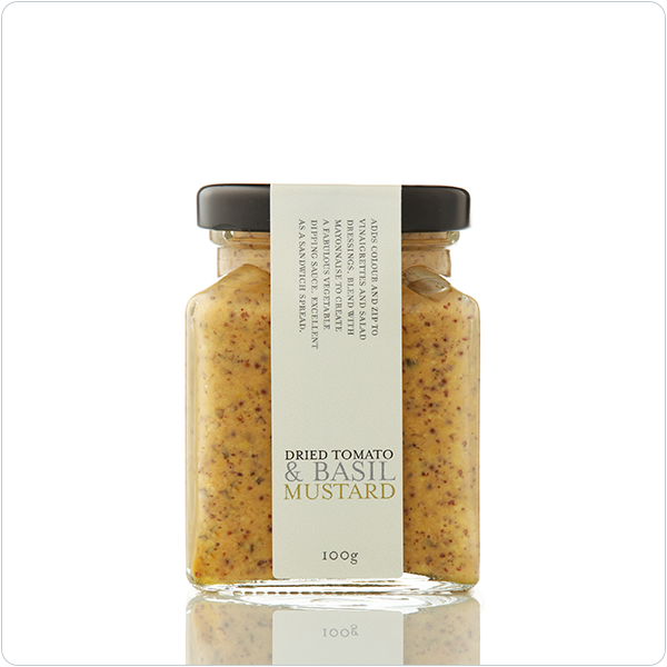 Yarra Valley Gourmet Foods Dried Tomato & Basil Mustard - 100g