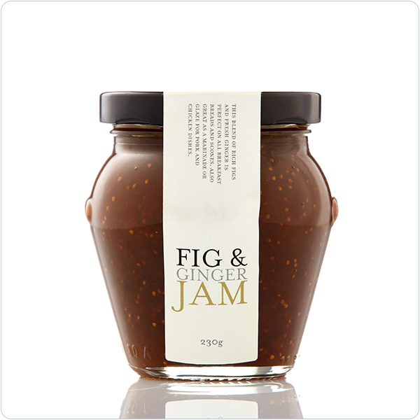 Yarra Valley Gourmet Foods Fig & Ginger Jam - 230gm