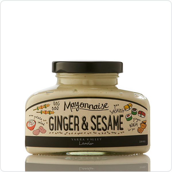 Yarra Valley Larder Ginger & Sesame Mayonnaise - 200g