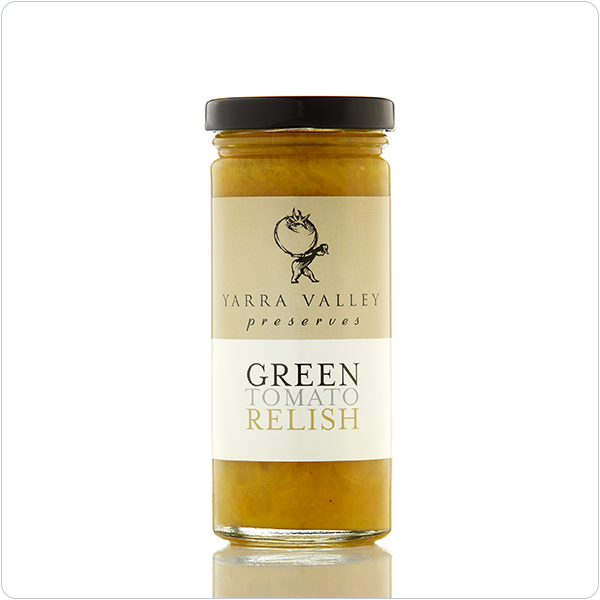 Yarra Valley Gourmet Foods Green Tomato Relish - 250gm