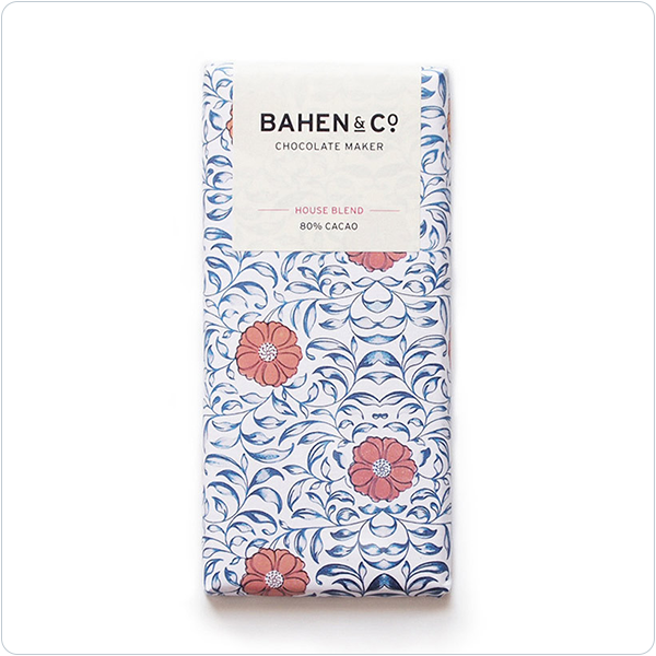 Bahen & Co House Blend 80% Cacao - 75gm