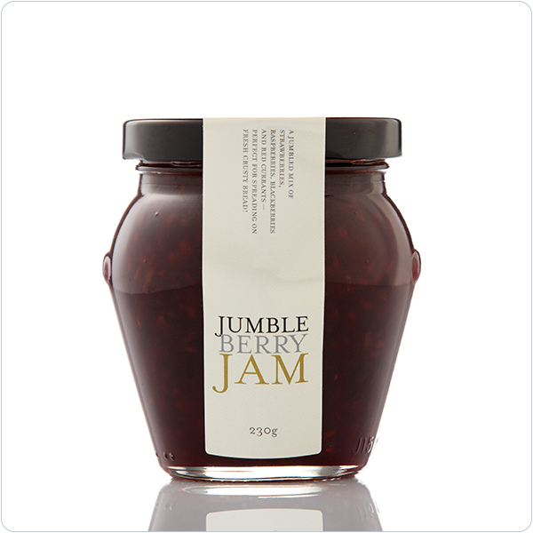 Yarra Valley Gourmet Foods Jumbleberry Jam - 230gm