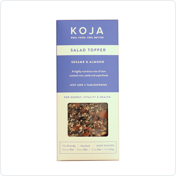 KOJA Sesame & Almond Salad Topper - 220gm