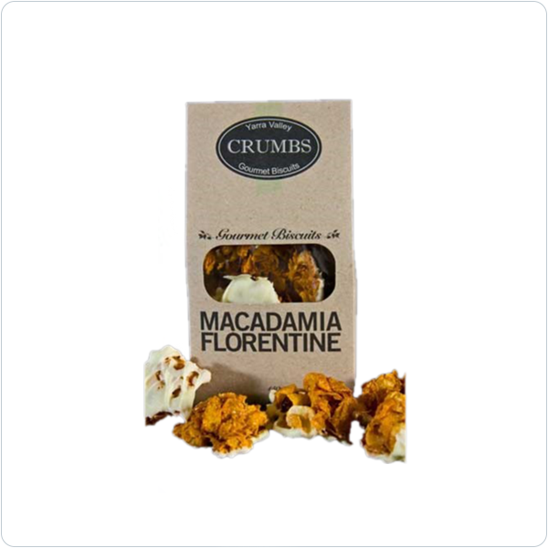 Yarra Valley Crumbs Macadamia Florentine - 150gm