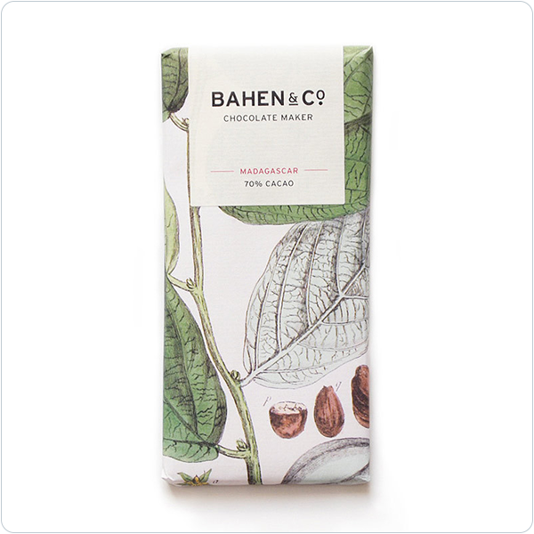 Bahen & Co Madagascar 70% Cacao - 75gm
