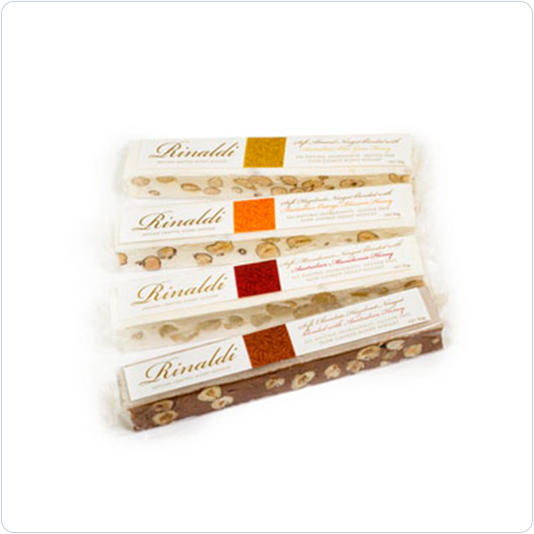 Rinaldi Hazelnut and Orange Soft Nougat - 86gm