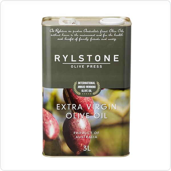 Rylstone Olive Press Murrumbidgee -  Extra Virgin Olive Oil - 3 ltr