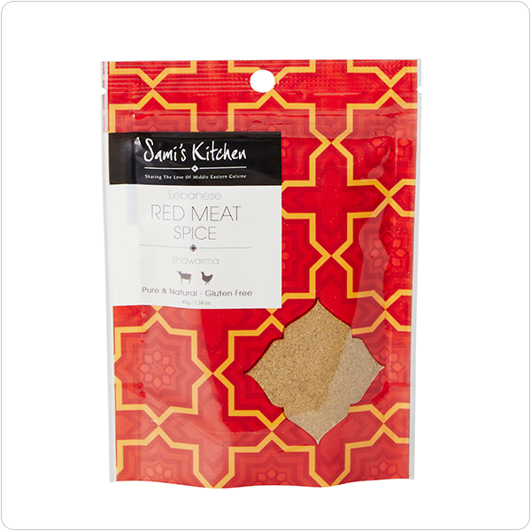 Sami's Kitchen Lebanese Red Meat Spice - 45g