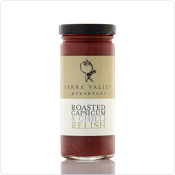 Yarra Valley Gourmet Foods Roasted Capsicum & Chilli Relish 270g