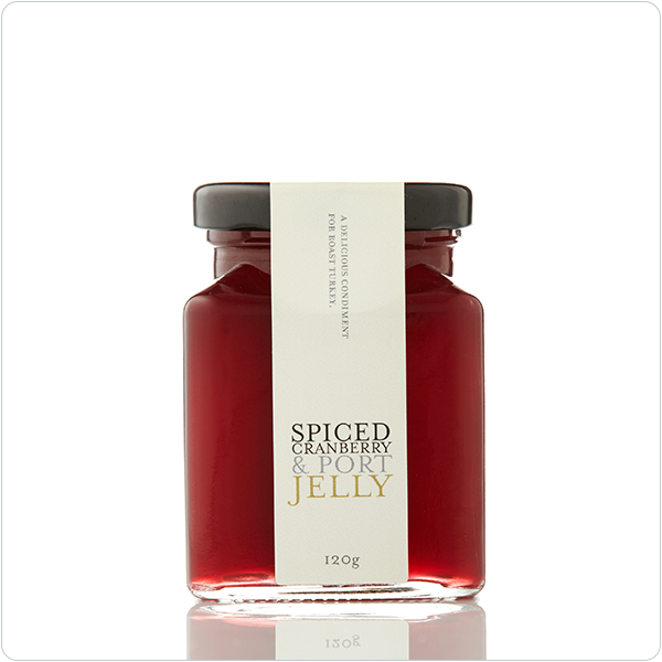 Yarra Valley Gourmet Foods Spiced Cranberry & Port Jelly - 110ml