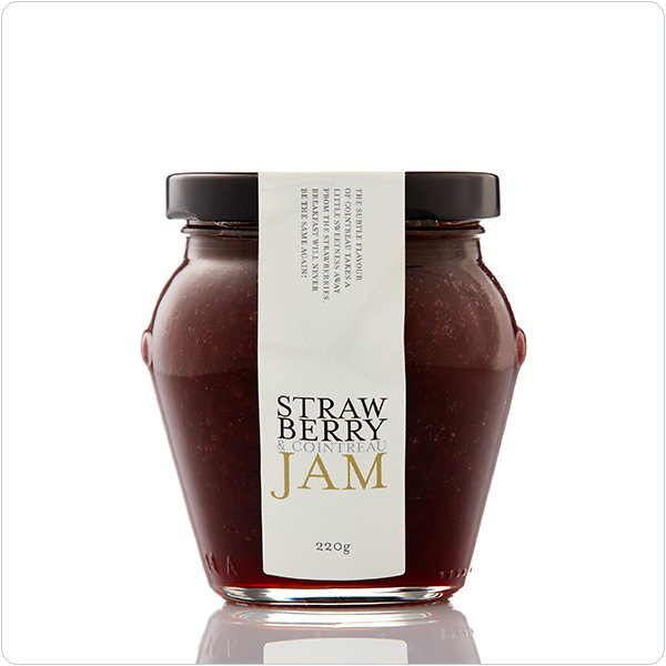 Yarra Valley Gourmet Foods Strawberry & Cointreau Jam - 230gm