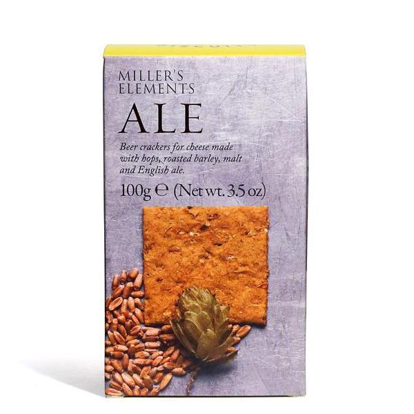 Miller's Elements Ale Crackers - 100gm