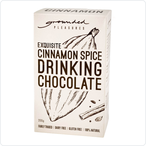 Exquisite Cinnamon Spiced Drinking Chocolate - 200gm