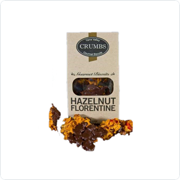 Yarra Valley Crumbs Hazelnut Florentine - 150gm