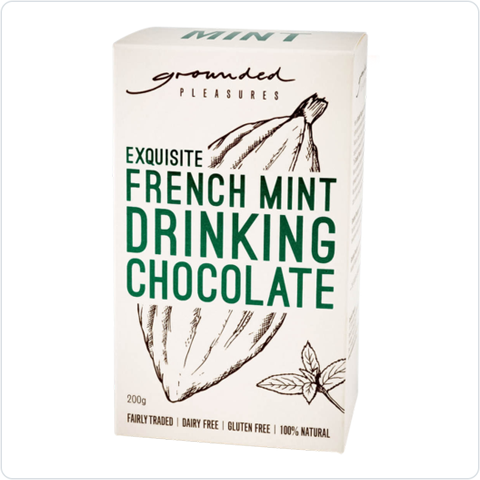 Exquisite French Mint Drinking Chocolate - 200gm
