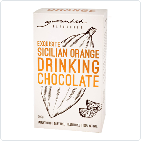 Exquisite Sicilian Orange Drinking Chocolate - 200gm