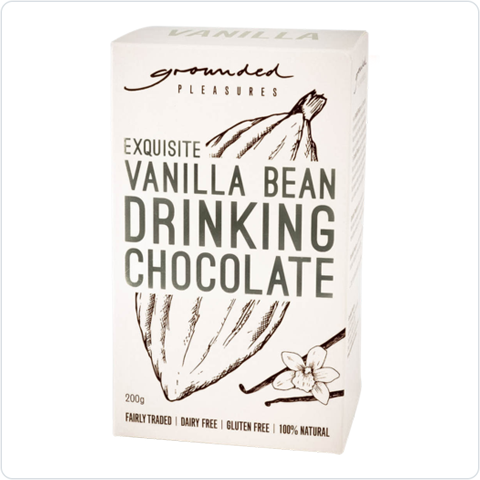Exquisite Vanilla Bean Drinking Chocolate - 200gm