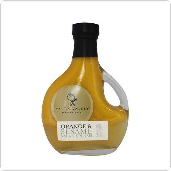 Yarra Valley Gourmet Foods Orange & Sesame Salad Splash - 250ml