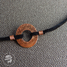 Load image into Gallery viewer, Copper Acid Washer necklace
