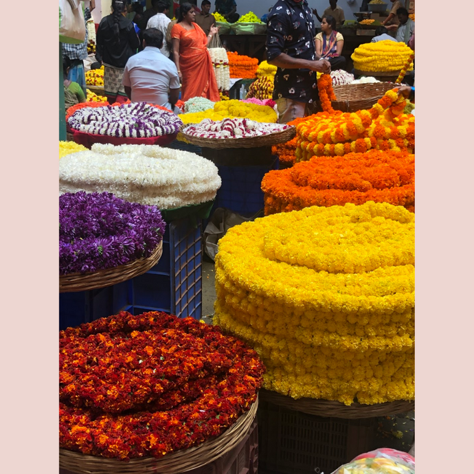 KR Market; The Night flower market