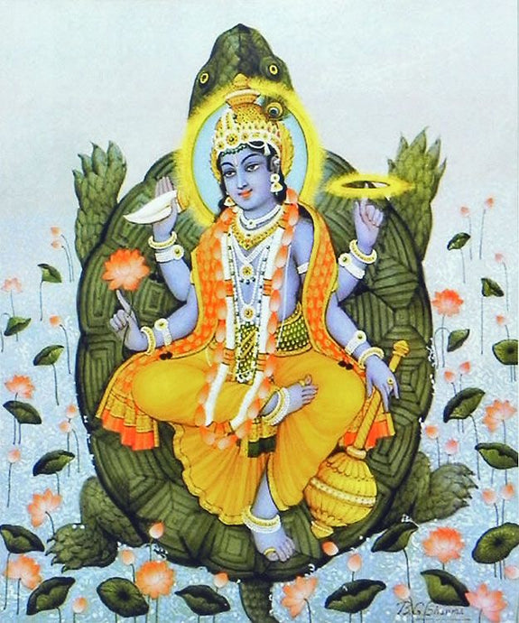 The second avatar of Lord Vishnu | Kurma avatar