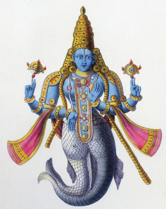The first avatar of Lord Vishnu | Matsya avatar