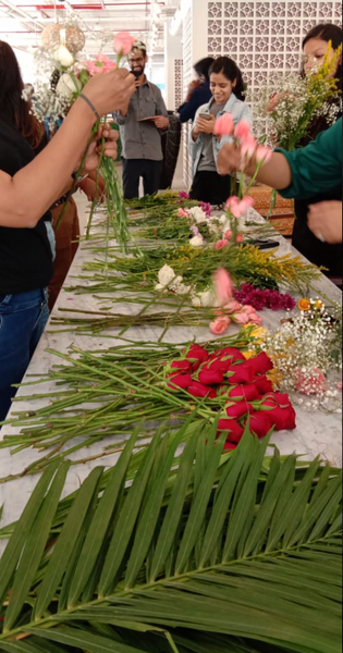 Bouquet Making Workshop