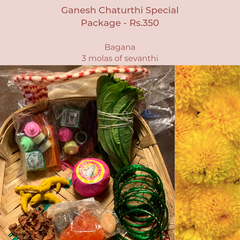 Rose Bazaar, Ganesh Chaturthi, festival, story behing ganesh Chaturthi, curated packages, home delivery, puja/pooja, banana, flowers