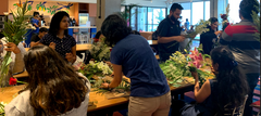 Rose Bazaar, Wework, Salarpuria, De-stress workshop, flower bouquet,