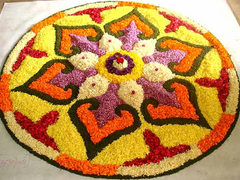 Rose Bazaar, Onam, Celebrations, flower, rangoli, flower rangoli, special package, home delivery,
