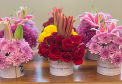 Rose Bazaar, Wework, Bangalore, Prestige Atlanta, pop up, flowers, home decor, puja/pooja, subscription, tins, lily, Chrysanthemums, home delivery