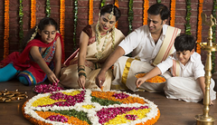 Rose Bazaar, Onam, Kerala, special packages, puja/pooja, Mahabali, flowers, colours, colourful,
