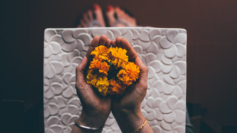 Marigold Flower For Pooja