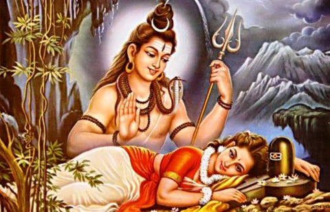 Lord Shiv and Parvathi