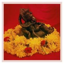 Load image into Gallery viewer, Puja or Pooja flowers garland calendar from Rose Bazaar