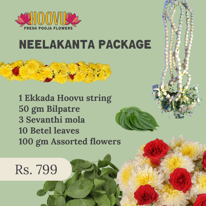 Neelakanta package for Mahashivratri
