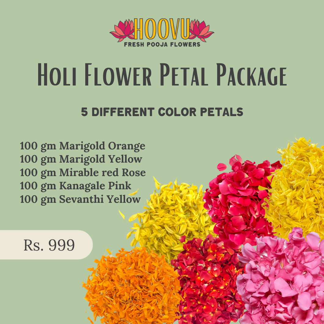 Holi Flower package
