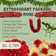 Load image into Gallery viewer, Sankranthi Extravagant Package: Rose - One Time