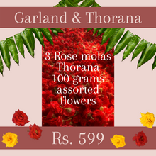 Load image into Gallery viewer, Mola and Thorana Package: Rose
