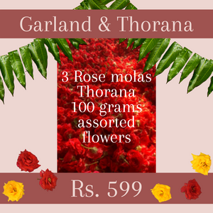Mola and Thorana Package: Rose