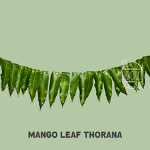 Load image into Gallery viewer, Mango Leaf Thorana 6ft - One time