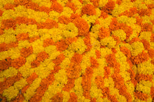 Load image into Gallery viewer, Marigold Puja or Pooja flowers garland from Rose Bazaar