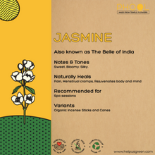 Load image into Gallery viewer, Jasmine incense of agarbathi from Phool on Rose Bazaar
